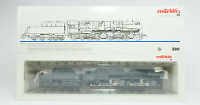 MARKLIN HO SCALE 3301 BR CLASS 53 2-6-8-0 STEAM ENGINE AND TENDER #0002