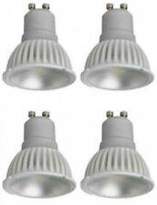 4 x Megaman 141732 LED GU10 PAR16 Lamps 4 Watt 35 Degree 4000K Cool White
