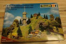Faller Landschaftsset 5 Gebäudebausätze H0 1:87 NEU