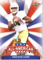 2017 Leaf Draft Football All-American #AA-10 DeShone Kizer