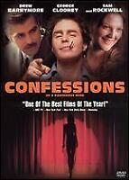 CONFESSIONS OF A DANGEROUS MIND-SAM ROCKWELL DVD-*DISC ONLY*WITH TRACKING