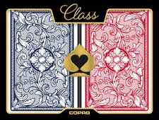 1 Dozen COPAG 100% Plastic Playing Cards CLASS LEGACY Bridge Jumbo Index NEW