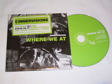 CD - Innervisions Where we at - Promo 2006 Cardcover - K