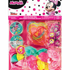 Minnie Mouse 48-Piece Mega Pack Birthday Party Favors Supplies~ Goody Supplies