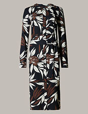 EX Marks and Spencer Autograph Oriental Shirt  Dress  Size 16  RRP £59
