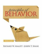 FAST SHIP - MALOTT SHANE 7e Principles of Behavior                           GF6