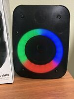 bluetooth speaker AEK Cyber RGB Light Tws  Fm Rechargeable Good & Clear Sound