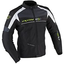 Chaqueta, Jacket  Ixon Alloy Perforada Negro-Fluor T.4XL