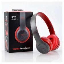 Auriculares Bluetooth Inalámbrico Estéreo Ajustable On-Ear auriculares auriculares Reino Unido Stock