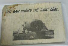 Authentic South Vietnam War Truyen Don Propaganda Leaflet You Can Not Exit