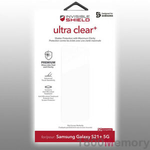 ZAGG InvisibleShield Ultra Clear+ Screen Protector for Samsung Galaxy S21+ 5G