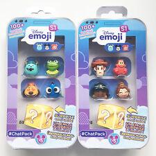 Disney Emoji #ChatPack Chat Pack Series 1 Bundle with 10 Emojies