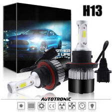 H13 LED Headlight Bulbs Fit Ford F150 2003-2014 F-250 F-350 Super Duty 2005-2018