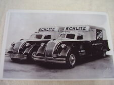 1938 DODGE  AIRFLOW BODY TRUCK SCHLITZ BEER  11 X 17  PHOTO  PICTURE