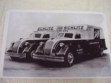 1938 DODGE  AIRFLOW BODY TRUCK SCHLITZ BEER  11 X 17  PHOTO  PICTURE