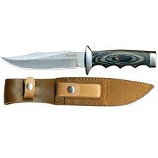 """Boker Magnum Safari Mate Knife 6"""" 440 S. Steel Blade & Laminated Wood Handle"""