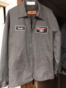 RED KAP insulated JACKET Ford  Mens M-RG Grey Work Wear Mechanic Jacket Nice