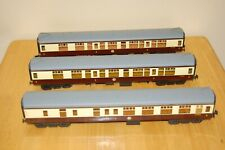More details for 3 vintage lima o gauge converted coaches