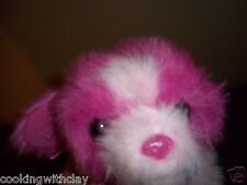 "RARE TY PINKY'S ""TWINKLES"" PLUSH DOLL FIGURE RETIRED PINK PUPPY DOG  NOVELTY TOY"