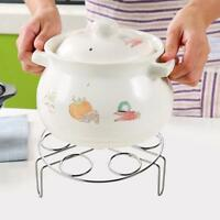 Stainless Steel Egg Steamer Cooker Basket Rack Pot Stand Instant Steam Trivet