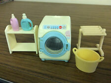Calico Critters Front loading washing machine by Epoch & sylvanian families