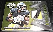2014 Totally Certified Antonio Brown 3 Color Game Worn Patch 25/25 Steelers