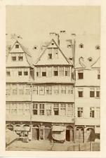Allemagne, architecture villageoise Vintage albumen print. Tirage albuminé