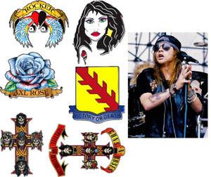 Axl rose Fake Tattoos