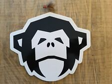 Howler Bros Large Monkey Head Sticker