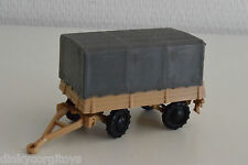 SIKU V SERIE TRAILER LIGHT BROWN WITH GREY CANOPY EXCELLENT RARE SELTEN