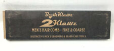 2Klawz Hair Comb for Men - Hair and Beard Comb with Wide & Fine Teeth Bush Klawz