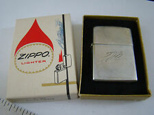 Vintage ZIPPO Cigarette Lighter no. 350 Engine Turned Amateur Engraved 251610