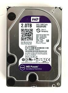 Western Digital WD20PURX WD Purple Surveillance Internal Hard Drive (2.0 TB)