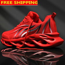 Men's Athletic Shockproof Sneakers Running Sport Tennis Shoes Breathable Fitness