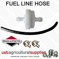 FUEL FILTER WHITE HOSE LINE CLIPS - GENUINE BRIGGS & STRATTON 394358 NEXT DAY