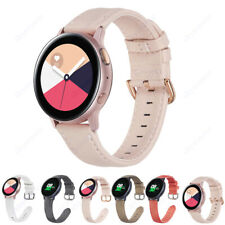 For Samsung Galaxy Watch 42mm Gear S2 S4 Sport Leather Strap Bracelet Wrist Band