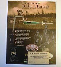 RELIC HUNTER LONG RANGE METAL DETECTOR LOCATOR CIVIL WAR ANCIENT ARTIFACTS