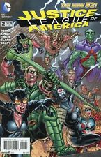 Justice League of America #2 Variant Comic Book 2013 New 52 - DC