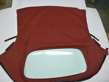 Porsche 986 Boxster Convertible Top Burgundy  German A5 1997-2002