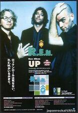 1998 R.E.M. rem Up Japan album promo press / print ad mini poster advert 12r