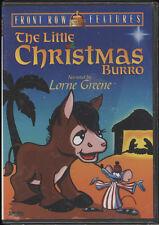 SEALED DVD THE LITTLE CHRISTMAS BURRO,LORNE GREENE