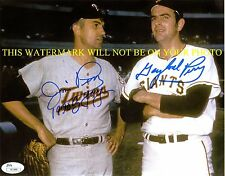 JIM & GAYLORD PERRY SIGNED AUTOGRAPHED 8x10 RP PHOTO BASEBALL BROTHERS CY YOUNG