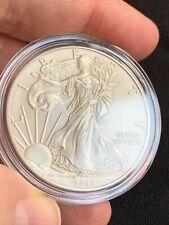 Moneta d'argento puro 999 in capsula - 1 OZ American Silver Eagle Coin 2015