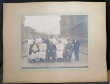 HOPITAL DE LA PITIE PARIS 1912 ancienne photographie groupe internes pharmacie
