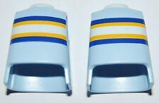 13655 Cuerpo azul claro rayas horizontal 2u playmobil,body,civil,city life