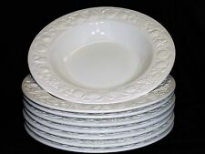 Windsor & Browne- 8 pc. Large Rim Soup/Salad/Pasta Bowl- Made in Italy