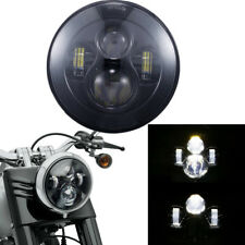 "7"" 40W H4 LED Motorcycle Headlight Projector Lamp for Harley Victory Custom 1pcs"