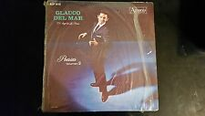 POESIAS GLAUCO DEL MAR EL ANGEL DE LA POESIA  VOLUMEN 2   - LP RECORD VINYL