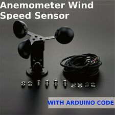 Anemometer wind speed Sensor Output 0~5VDC range 0~30m/s Arduino Weather Station