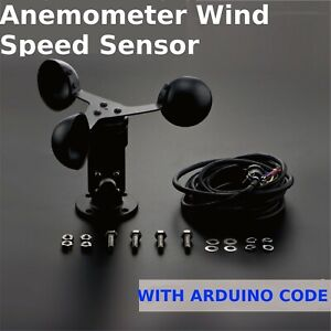 Anemometer wind speed Sensor Output 0~5VDC range 0~30m/s Arduino Weather Station